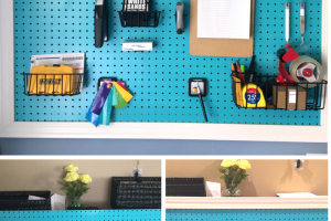 DIY Craft Peg Board