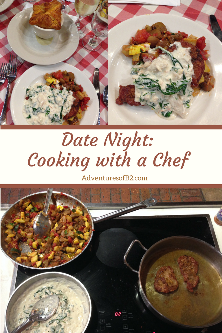 October Date: Cooking with a Chef