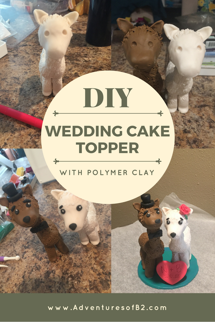 DIY: Wedding Cake Topper