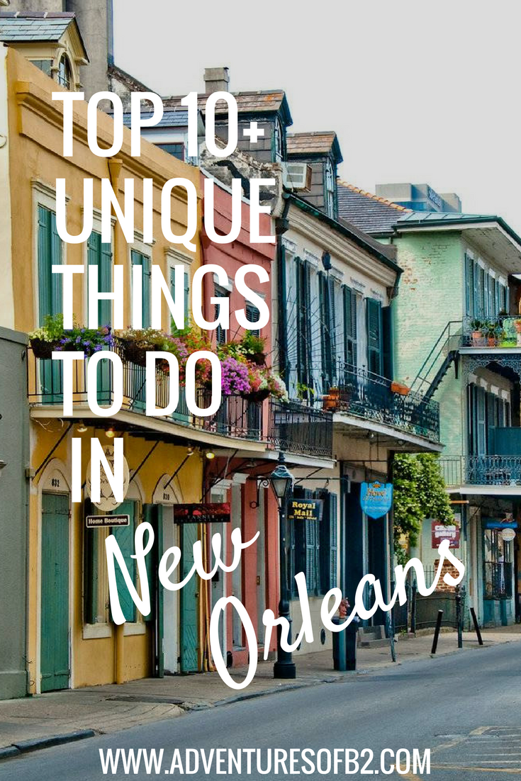 10 Unique Things to do in New Orleans