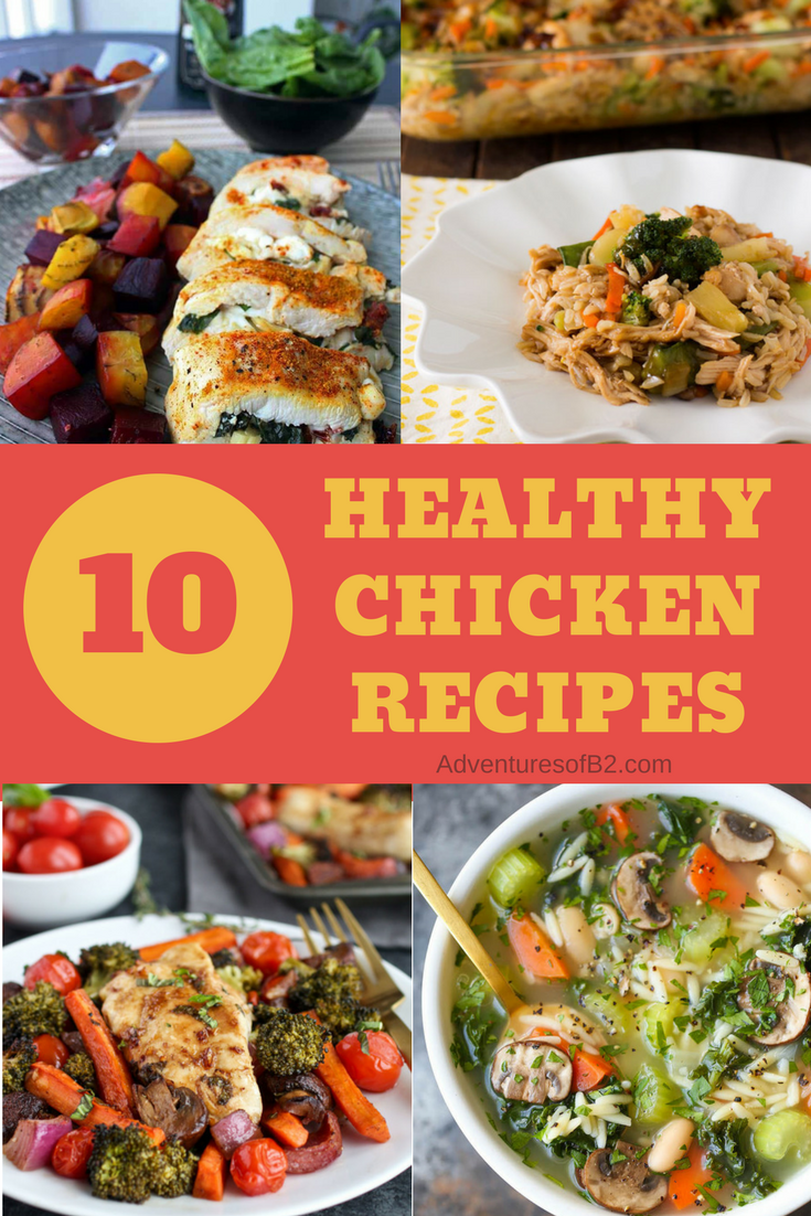 10 Easy Recipes with Chicken that are Surprisingly Healthy