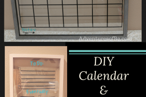DIY Wall Calendar & To Do List