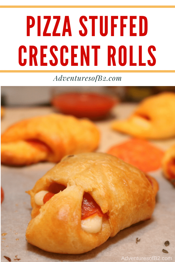 Pizza Stuffed Crescent Rolls