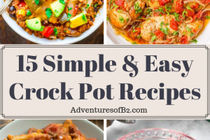 15 Simple and Easy Crock Pot Recipes