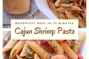 Cajun Shrimp Pasta – An Easy 20 Minute Meal