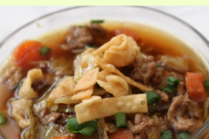 Simply Delicious Egg Roll Soup