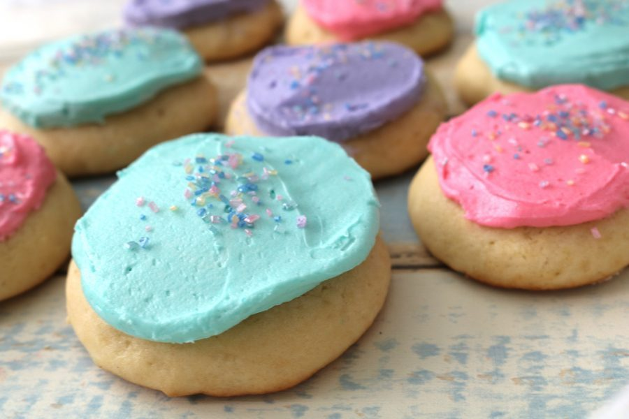 Frosted Lofthouse Sugar Cookies