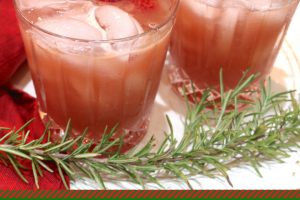 Winter Bourbon Punch