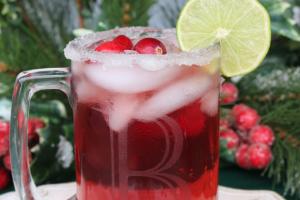 Cranberry Beergaritas