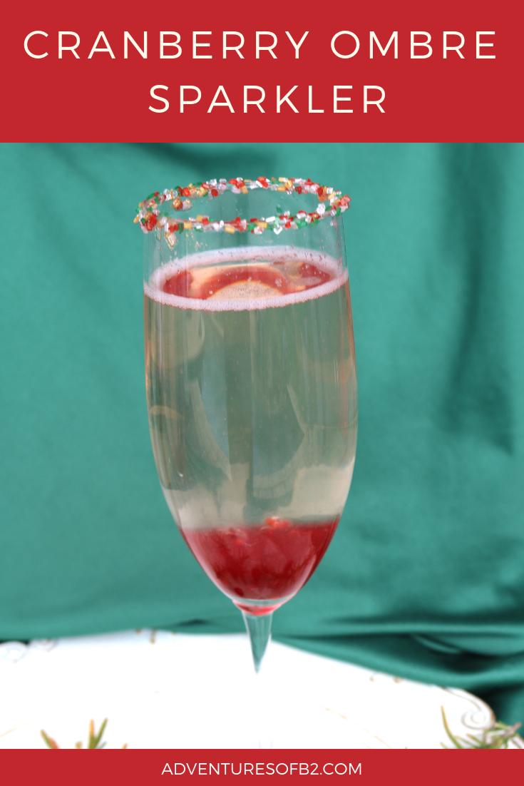 Cranberry Ombre' Sparkler