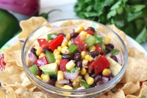 Delicious Corn and Black Bean Salsa