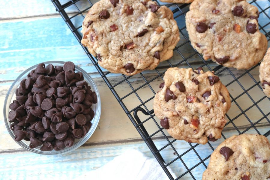 Candied Bacon Chocolate Chip Cookies