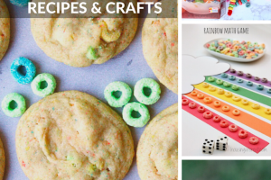 Froot Loop Inspired Crafts and Educational Games Your Child Will Love!