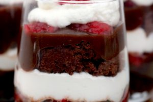 Chocolate Raspberry Trifles